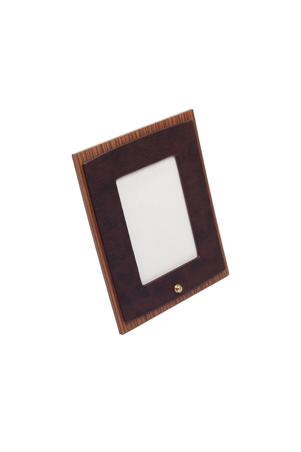 Star Lux Leather Desk Set Brown 10 Accessories