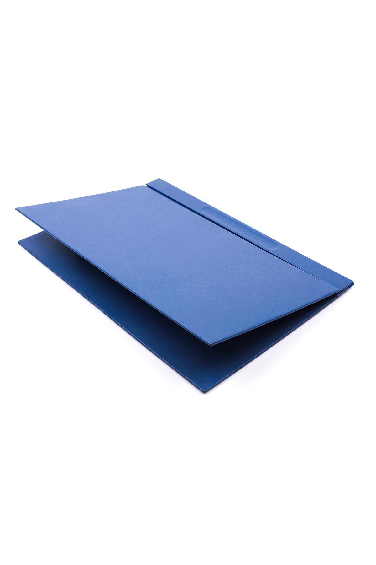 Deri Sümen Takımı Mavi 8 Parça İsimlik Hediyeli