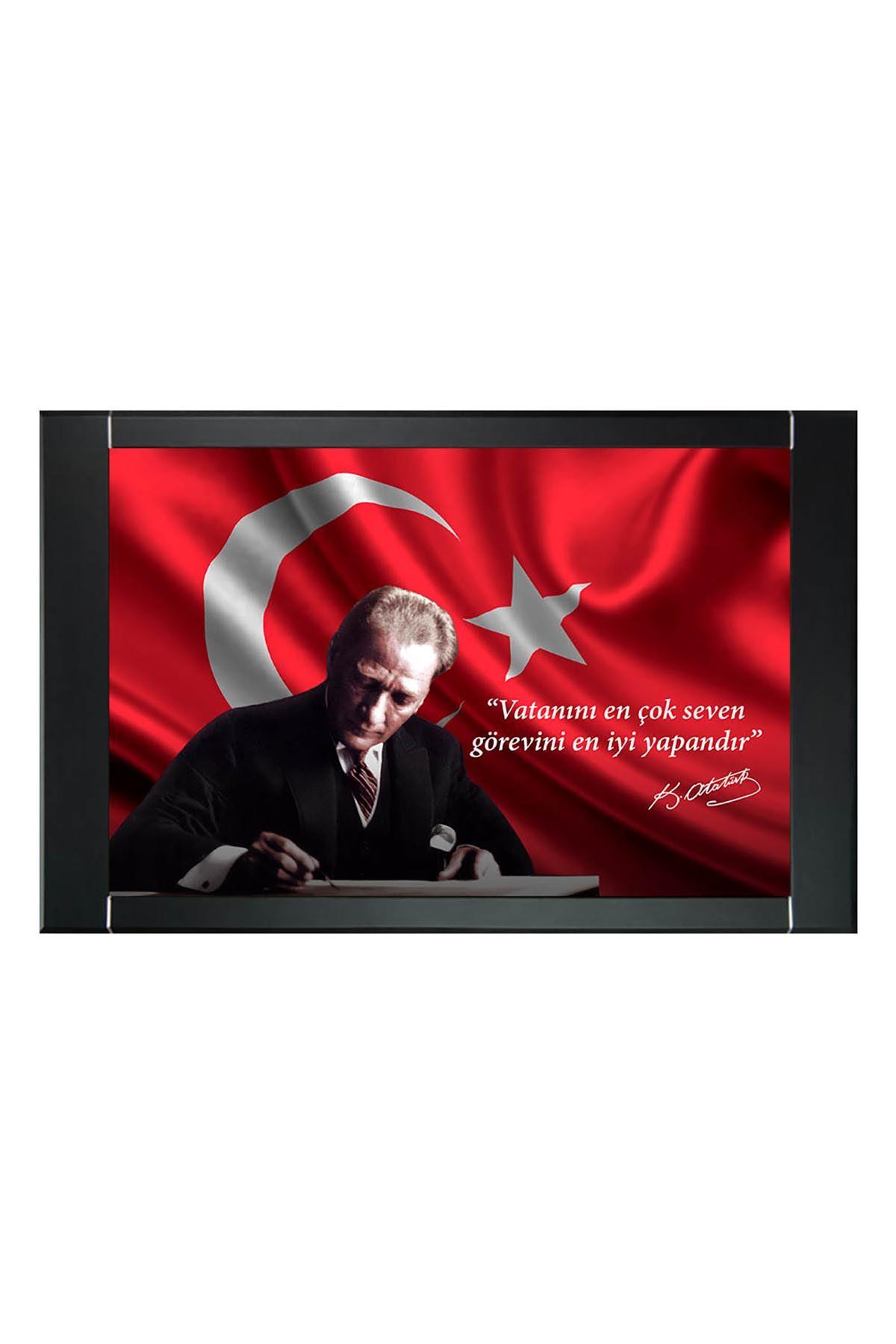 Resimli Atatürk Makam Panosu