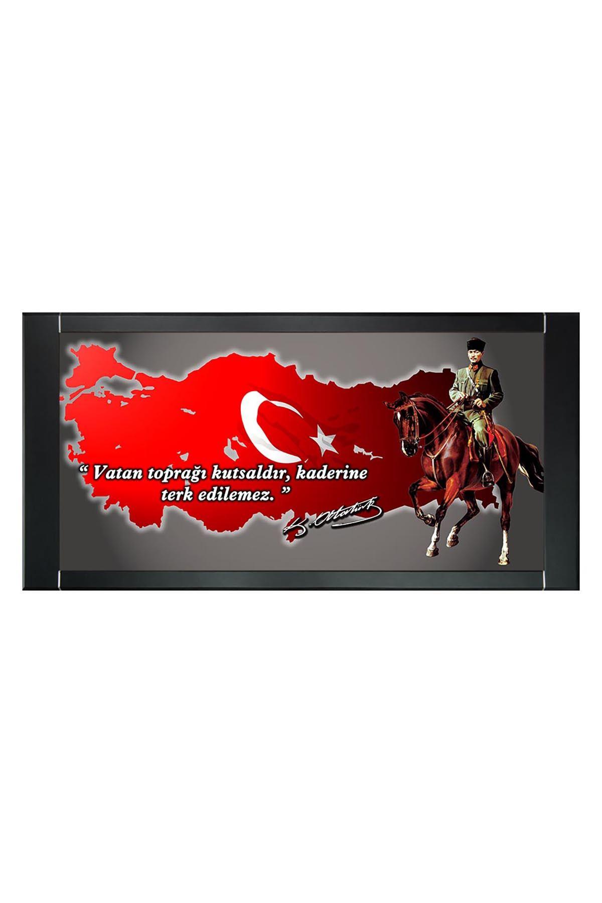 First President M. Kemal Atatürk Printed Manager Board   Printed Manager Board   Leather Framed Board   High Quality Manager Board