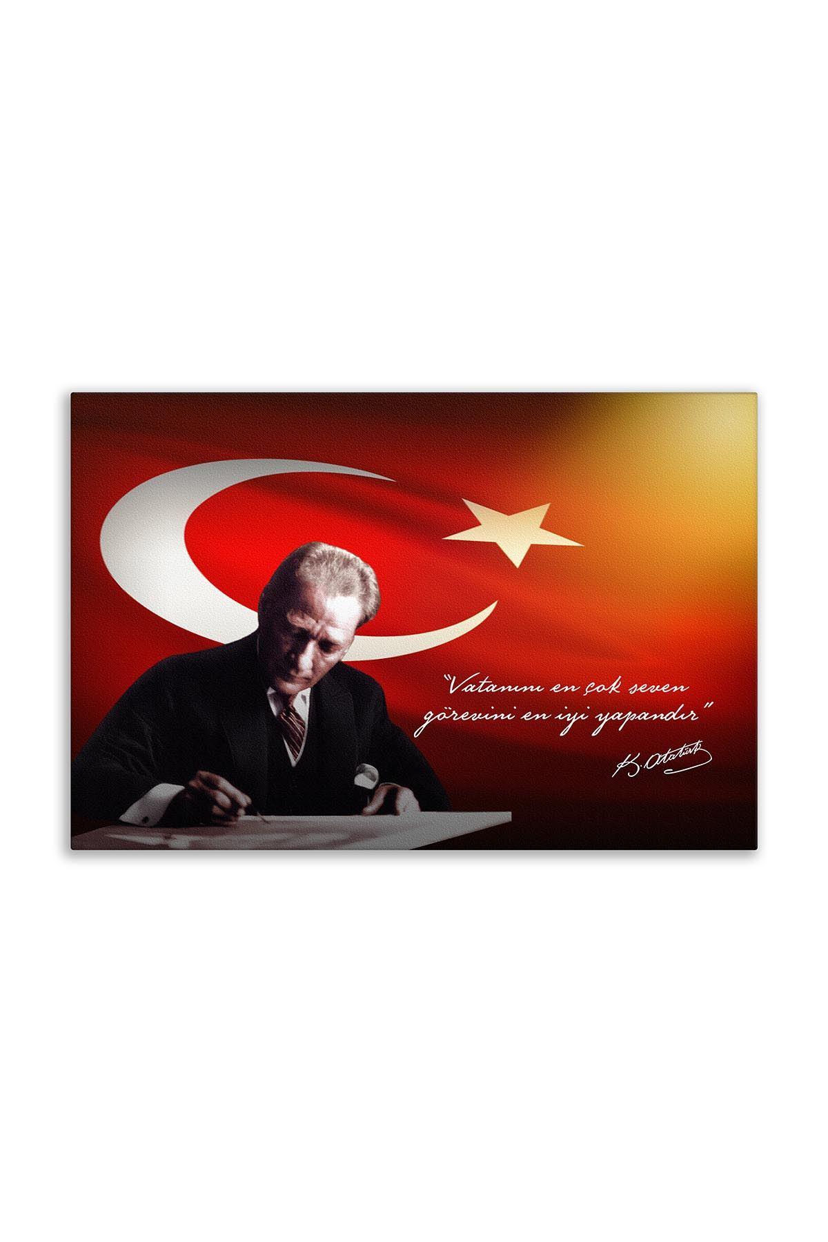 Ataturk Canvas Board | Printed Canvas Board | Customized Canvas Board | Digital Printing