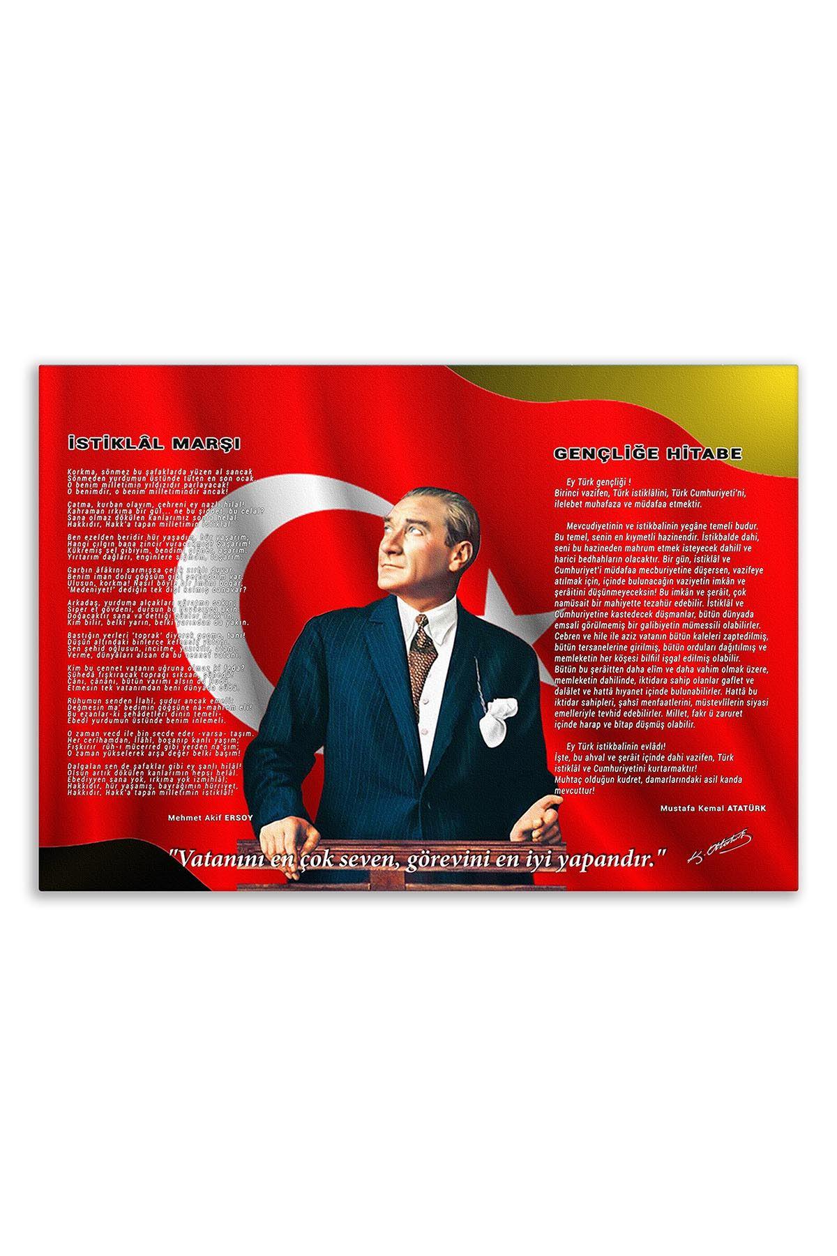 Ataturk Canvas Board | Printed Canvas Board | Customized Board