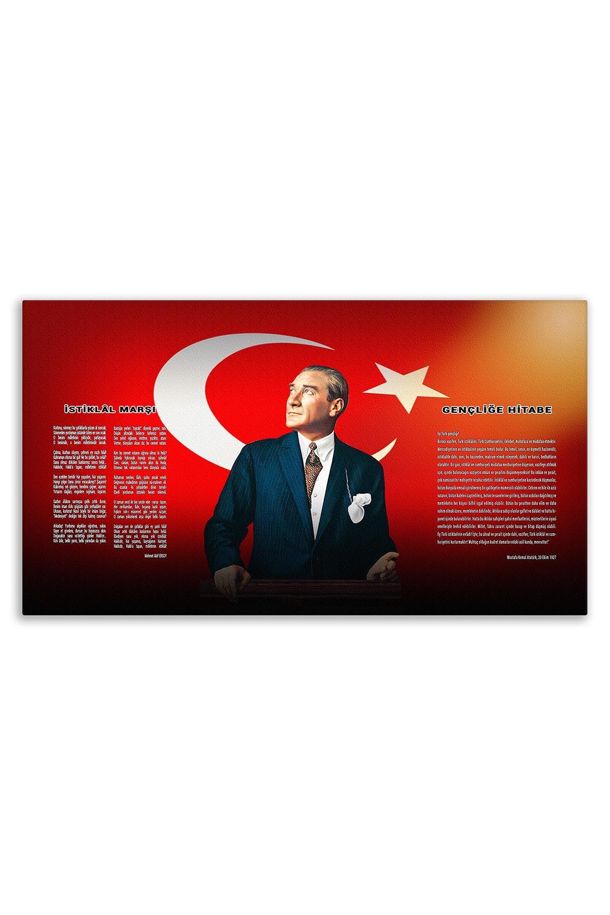 Atatürk Canvas Board | Printed Canvas Board | Customized Board