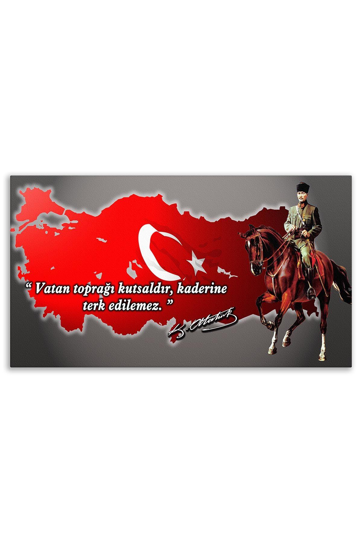 Atatürk Deri Üzerine Tablo