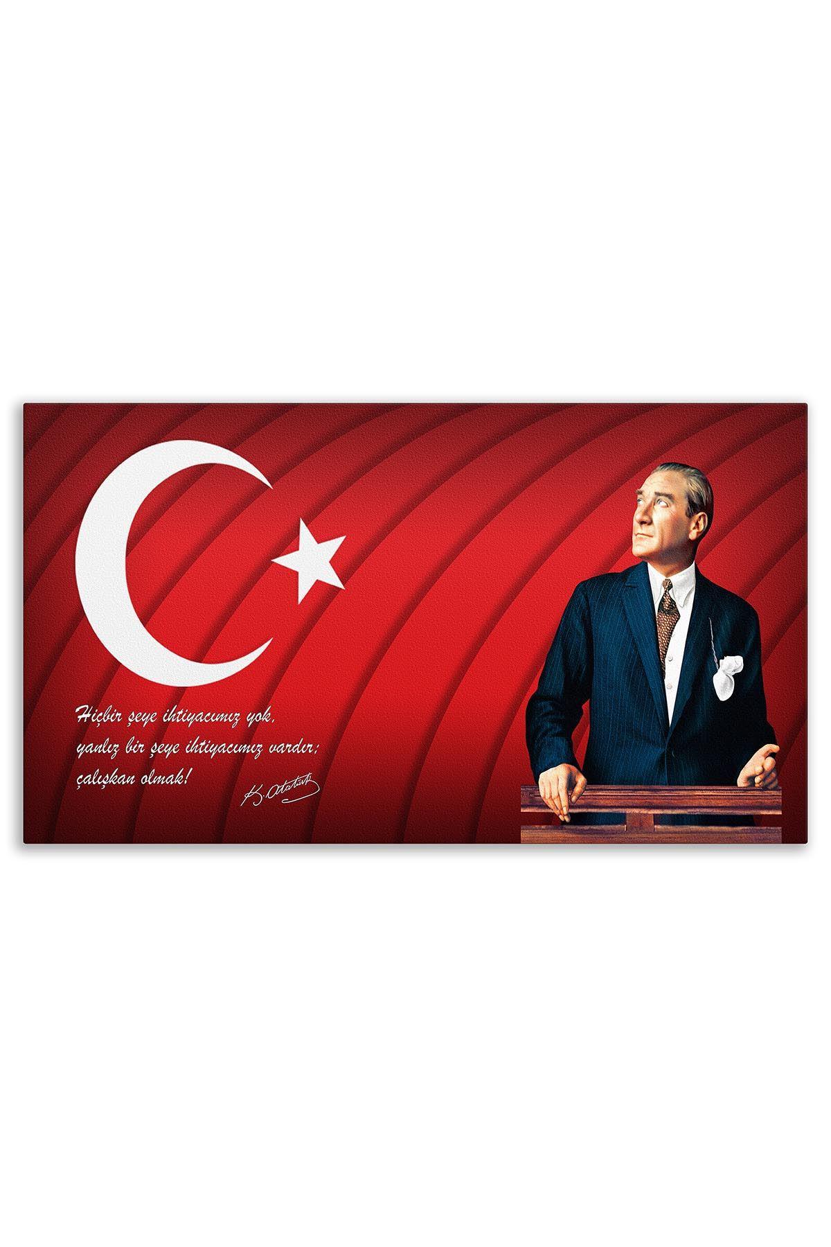 Atatürk Canvas Board | Printed Canvas Board | Customized Canvas Board | Digital Printing