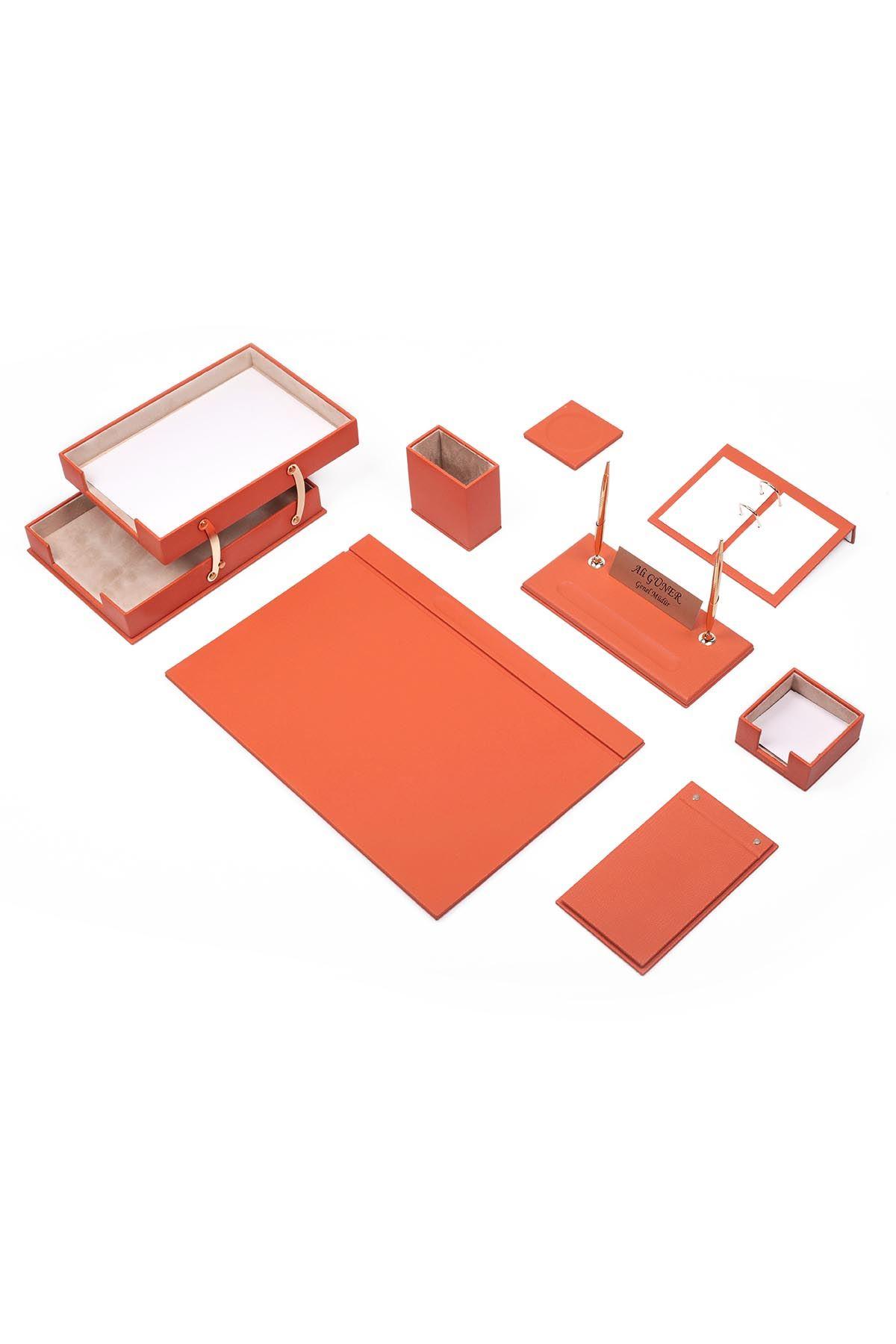 Make Your Own Desk Set Orange