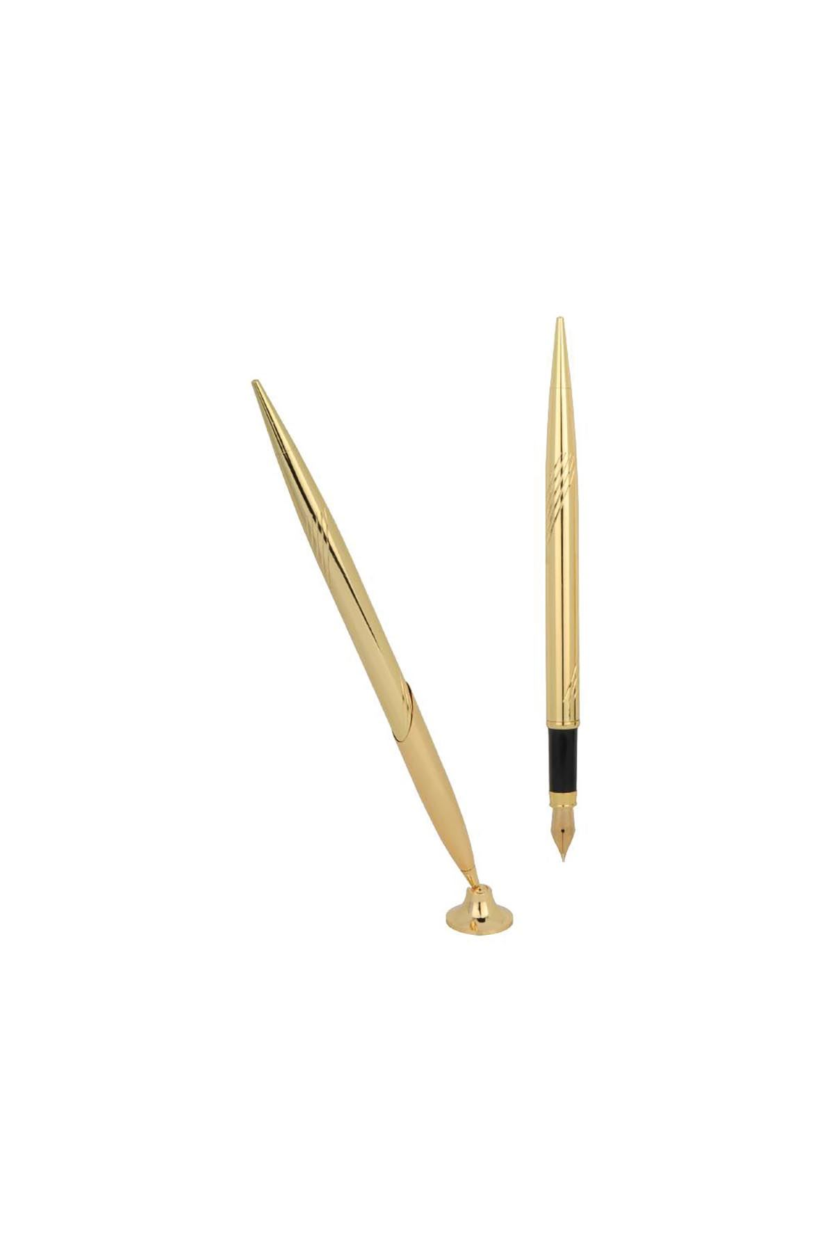 Metal Sümen Kalemi Dolma Altın Rengi